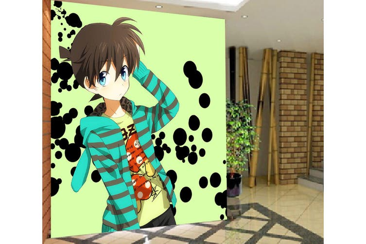 3D Detective Conan 696 Anime Wall Murals Woven paper (need glue), XXXL 416cm x 254cm (WxH)(164''x100'')