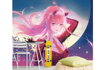 3D DARLING In The FRANXX 691 Anime Wall Murals Woven paper (need glue), XXL 312cm x 219cm (WxH)(123''x87'')