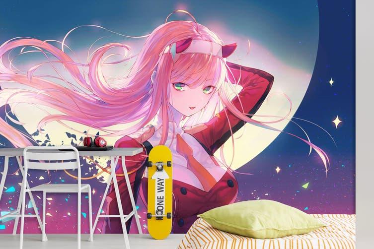 3D DARLING In The FRANXX 691 Anime Wall Murals Self-adhesive Vinyl, XXL 312cm x 219cm (WxH)(123''x87'')
