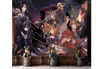 3D Black Butler 689 Anime Wall Murals Woven paper (need glue), XXXXL 520cm x 290cm (WxH)(205''x114'')