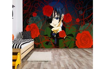 3D Black Butler 686 Anime Wall Murals Woven paper (need glue), XL 208cm x 146cm (WxH)(82''x58'')