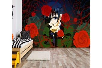 3D Black Butler 686 Anime Wall Murals Woven paper (need glue), XXL 312cm x 219cm (WxH)(123''x87'')