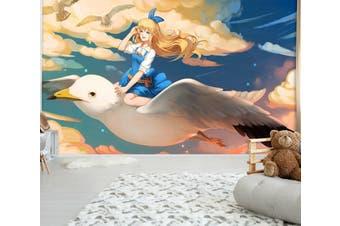 3D Alice In Wonderland 663 Anime Wall Murals Woven paper (need glue), XXXXL 520cm x 290cm (WxH)(205''x114'')