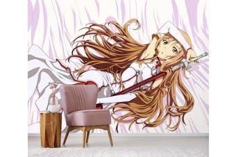 3D Sword Art Online 662 Anime Wall Murals Woven paper (need glue), XL 208cm x 146cm (WxH)(82''x58'')