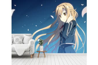3D Sword Art Online 661 Anime Wall Murals Woven paper (need glue), XXL 312cm x 219cm (WxH)(123''x87'')