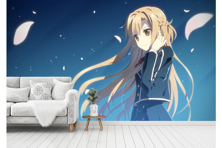 3D Sword Art Online 661 Anime Wall Murals Self-adhesive Vinyl, XXXL 416cm x 254cm (WxH)(164''x100'')