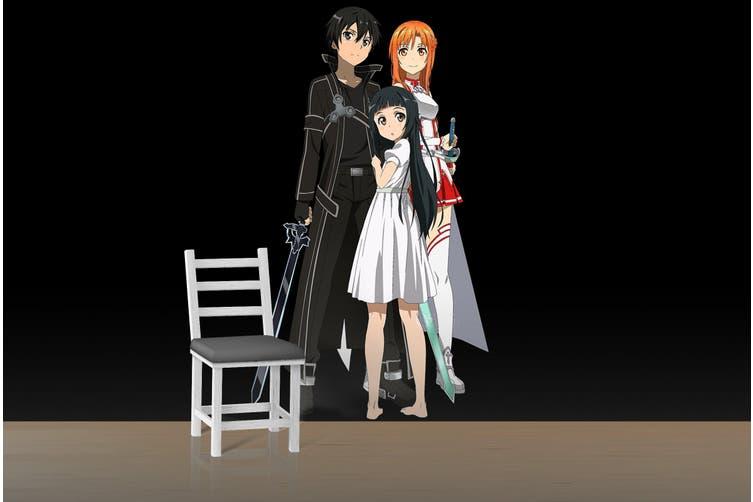 3D Sword Art Online 660 Anime Wall Murals Woven paper (need glue), XXXXL 520cm x 290cm (WxH)(205''x114'')
