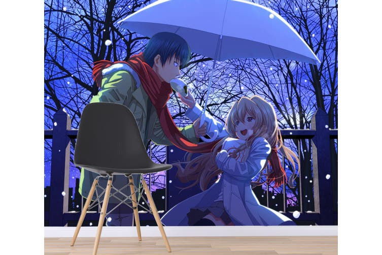 3D Plastic Memories 651 Anime Wall Murals Woven paper (need glue), XXXL 416cm x 254cm (WxH)(164''x100'')