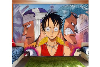 3D ONE PIECE 647 Anime Wall Murals Woven paper (need glue), XXXXL 520cm x 290cm (WxH)(205''x114'')
