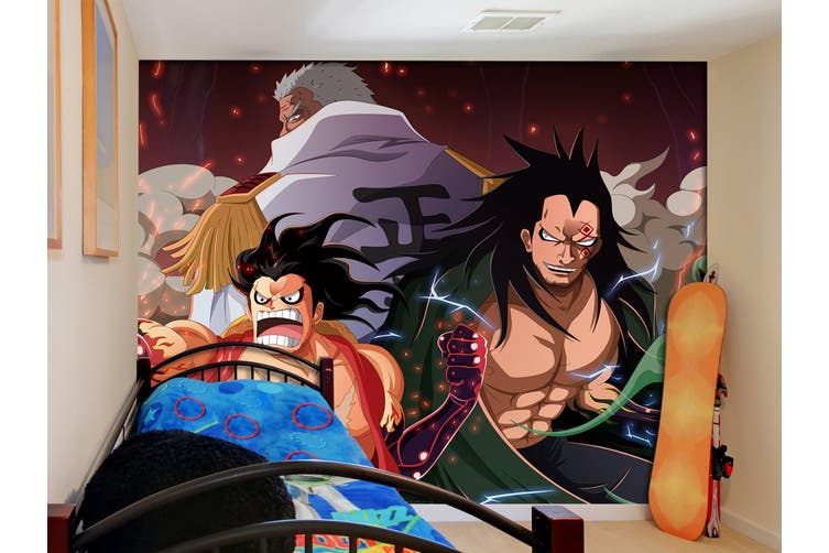 3D ONE PIECE 644 Anime Wall Murals Woven paper (need glue), XL 208cm x 146cm (WxH)(82''x58'')