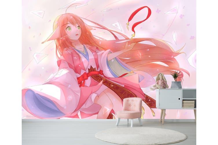 3D Fox Spirit Matchmaker 618 Anime Wall Murals Woven paper (need glue), XXXL 416cm x 254cm (WxH)(164''x100'')