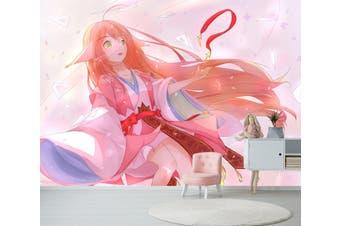 3D Fox Spirit Matchmaker 618 Anime Wall Murals Woven paper (need glue), XXXXL 520cm x 290cm (WxH)(205''x114'')