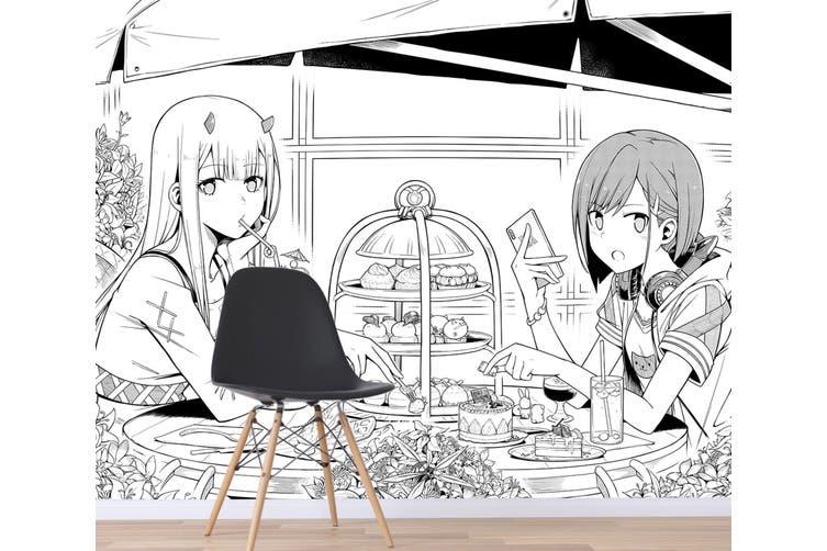 3D DARLING In The FRANXX 606 Anime Wall Murals Self-adhesive Vinyl, XXL 312cm x 219cm (WxH)(123''x87'')