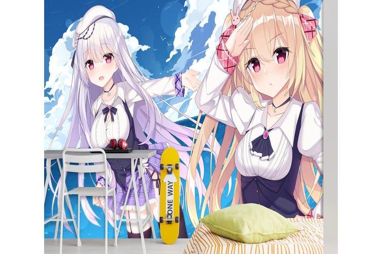 3D Azur Lane Wiki 596 Anime Wall Murals Woven paper (need glue), XXXL 416cm x 254cm (WxH)(164''x100'')