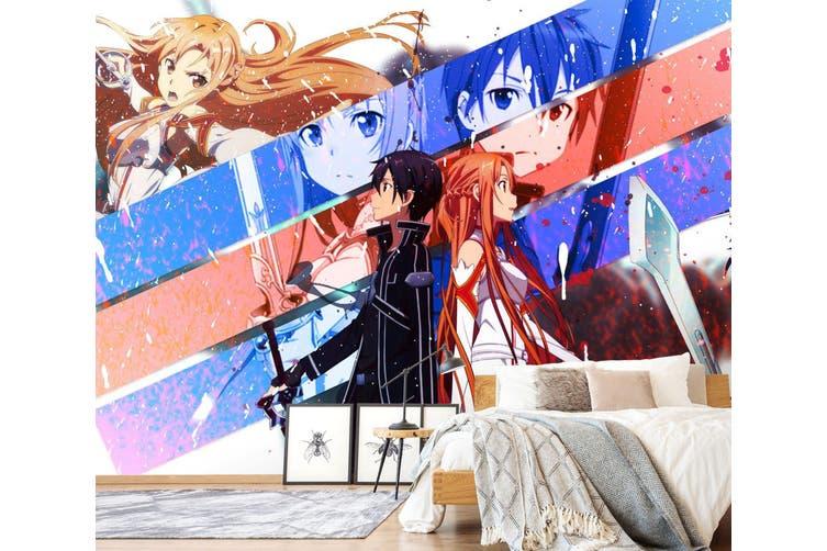 3D Sailor Moon 591 Anime Wall Murals Woven paper (need glue), XXL 312cm x 219cm (WxH)(123''x87'')