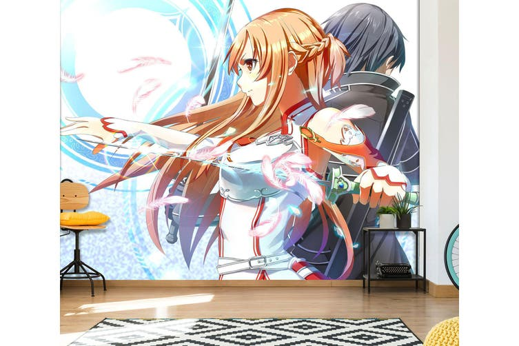 3D Sailor Moon 588 Anime Wall Murals Woven paper (need glue), XXXL 416cm x 254cm (WxH)(164''x100'')
