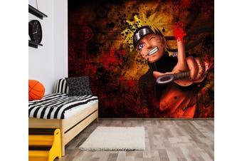 3D Naruto 584 Anime Wall Murals Woven paper (need glue), XXL 312cm x 219cm (WxH)(123''x87'')