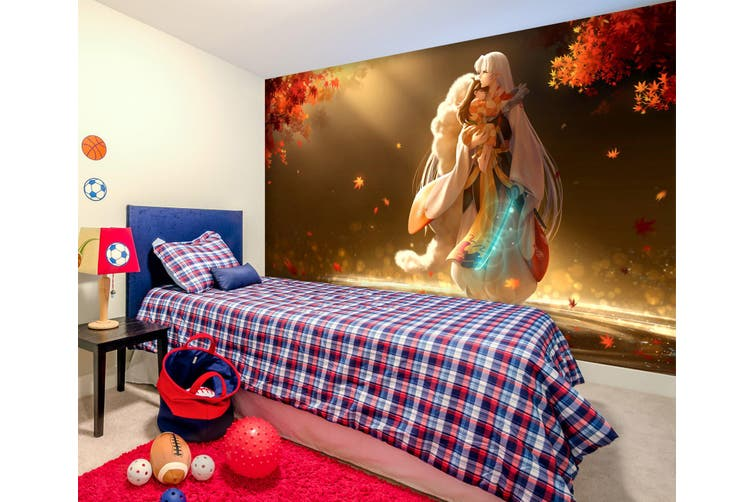 3D Inuyasha 582 Anime Wall Murals Woven paper (need glue), XL 208cm x 146cm (WxH)(82''x58'')