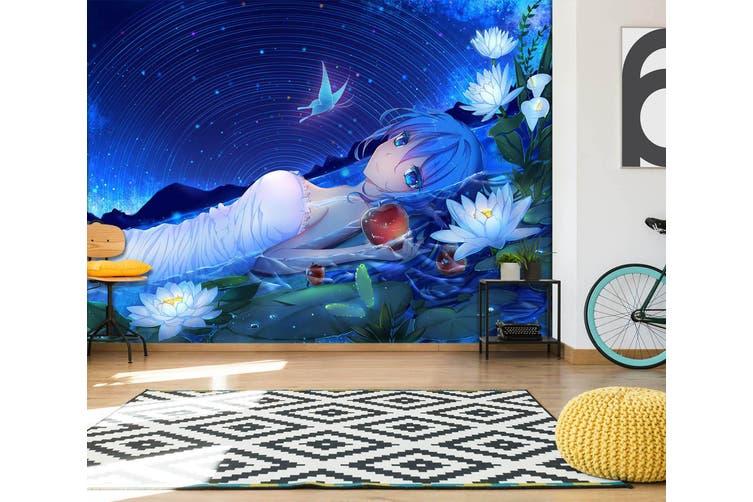 3D Hatsune Miku 572 Anime Wall Murals Self-adhesive Vinyl, XXL 312cm x 219cm (WxH)(123''x87'')