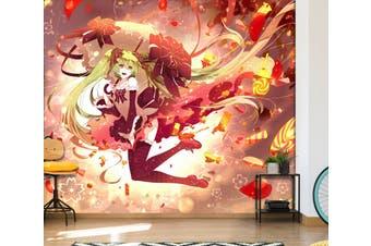 3D Hatsune Miku 568 Anime Wall Murals Woven paper (need glue), XL 208cm x 146cm (WxH)(82''x58'')
