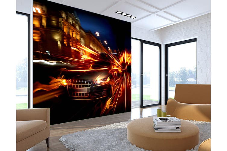3D Street Racing 399 Vehicle Wall Murals Wallpaper Murals Self-adhesive Vinyl, XXXL 416cm x 254cm (WxH)(164''x100'')