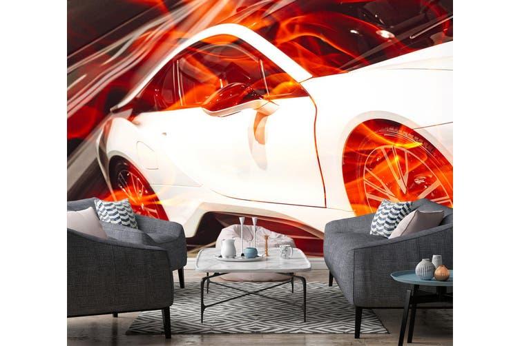 3D Sports Car 394 Vehicle Wall Murals Wallpaper Murals Self-adhesive Vinyl, XL 208cm x 146cm (WxH)(82''x58'')