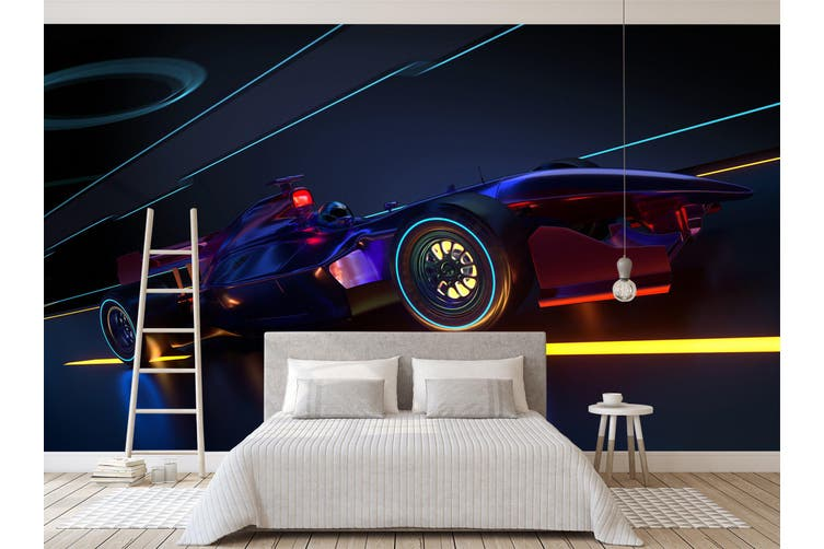 3D Colorful Wheel 391 Vehicle Wall Murals Wallpaper Murals Woven paper (need glue), XXXXL 520cm x 290cm (WxH)(205''x114'')