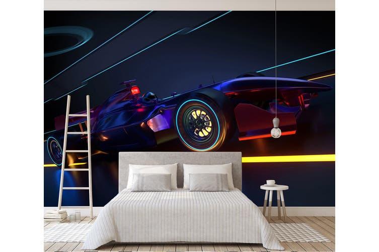 3D Colorful Wheel 391 Vehicle Wall Murals Wallpaper Murals Self-adhesive Vinyl, XXXXL 520cm x 290cm (WxH)(205''x114'')