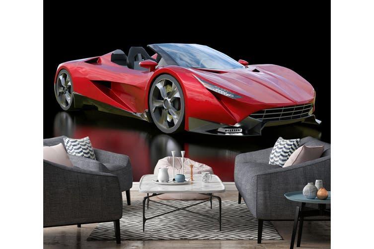 3D Convertible Ferrari 378 Vehicle Wall Murals Wallpaper Murals Woven paper (need glue), XXXL 416cm x 254cm (WxH)(164''x100'')