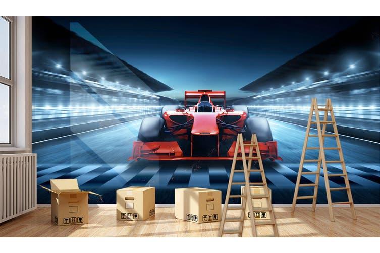 3D Race Track 371 Vehicle Wall Murals Wallpaper Murals Self-adhesive Vinyl, XXXL 416cm x 254cm (WxH)(164''x100'')