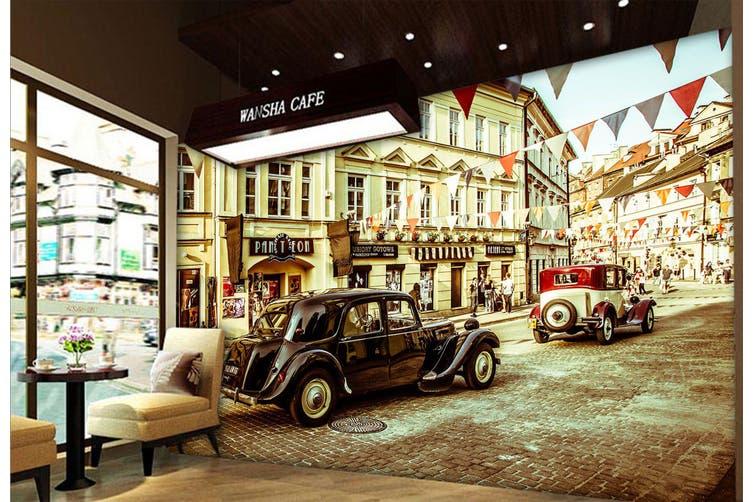 3D The Mall Luxury Car 365 Vehicle Wall Murals Wallpaper Murals Self-adhesive Vinyl, XXL 312cm x 219cm (WxH)(123''x87'')