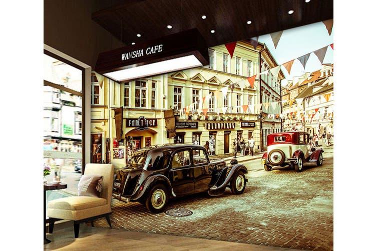 3D The Mall Luxury Car 365 Vehicle Wall Murals Wallpaper Murals Self-adhesive Vinyl, XXXL 416cm x 254cm (WxH)(164''x100'')