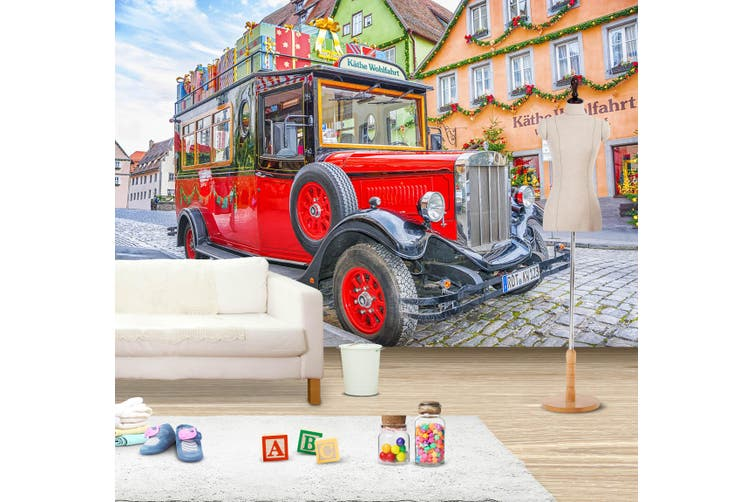 3D Jeep Wrangler 357 Vehicle Wall Murals Wallpaper Murals Self-adhesive Vinyl, XL 208cm x 146cm (WxH)(82''x58'')