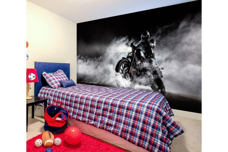 3D Fog Motorcycle 352 Vehicle Wall Murals Wallpaper Murals Woven paper (need glue), XXXL 416cm x 254cm (WxH)(164''x100'')