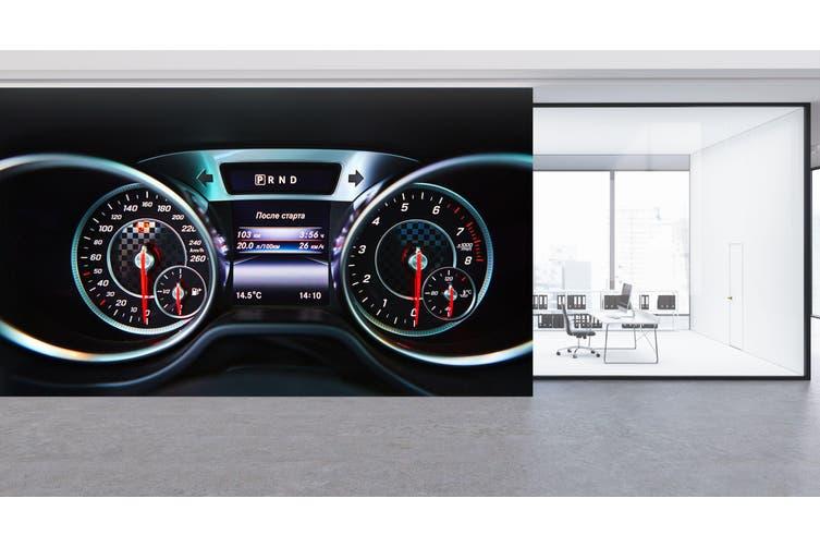 3D Mercedes Roulette 338 Vehicle Wall Murals Wallpaper Murals Woven paper (need glue), XXXXL 520cm x 290cm (WxH)(205''x114'')
