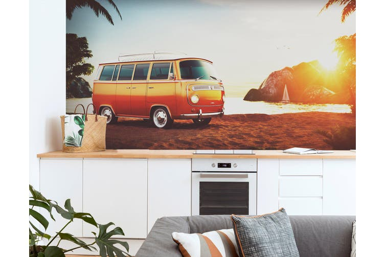 3D Self Driving Luggag 334 Vehicle Wall Murals Wallpaper Murals Woven paper (need glue), XXXL 416cm x 254cm (WxH)(164''x100'')