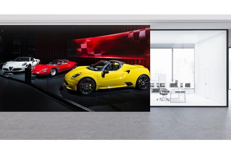 3D Sports Car Show 330 Vehicle Wall Murals Wallpaper Murals Woven paper (need glue), XXL 312cm x 219cm (WxH)(123''x87'')