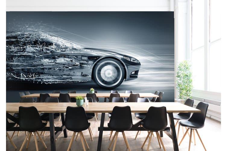 3D Creative Advertising 321 Vehicle Wall Murals Wallpaper Murals Woven paper (need glue), XXXL 416cm x 254cm (WxH)(164''x100'')