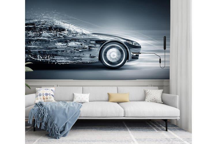 3D Creative Advertising 321 Vehicle Wall Murals Wallpaper Murals Self-adhesive Vinyl, XXL 312cm x 219cm (WxH)(123''x87'')