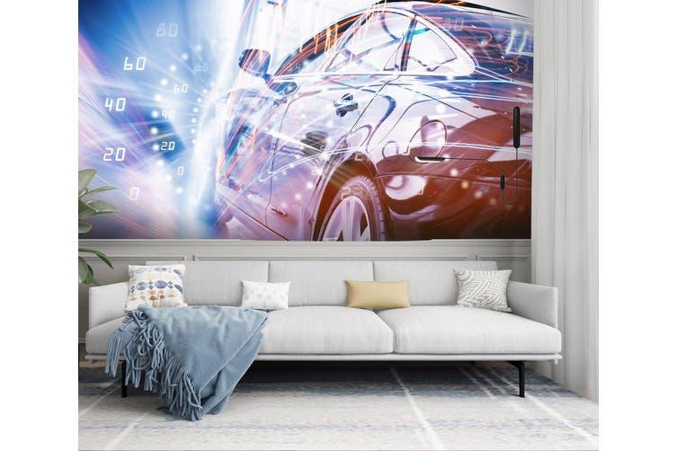 3D Watch Car 306 Vehicle Wall Murals Wallpaper Murals Self-adhesive Vinyl, XXXL 416cm x 254cm (WxH)(164''x100'')