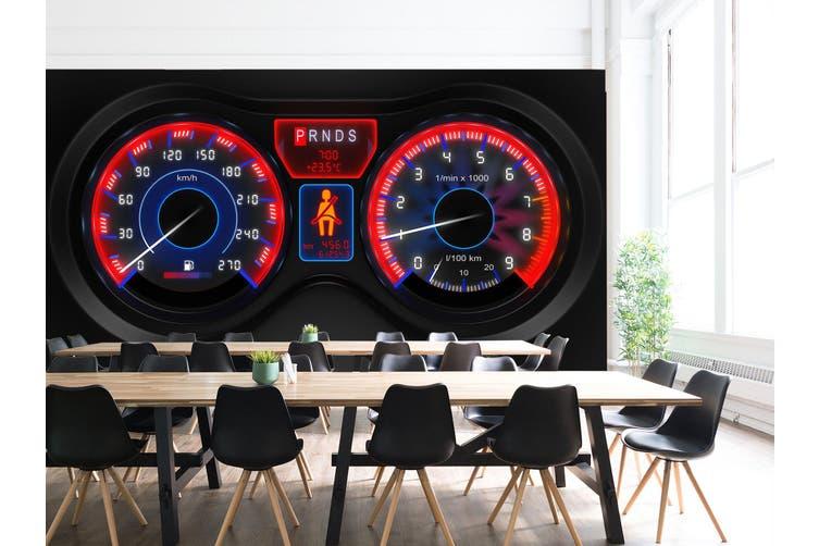 3D Car Dashboard 297 Vehicle Wall Murals Wallpaper Murals Woven paper (need glue), XXXXL 520cm x 290cm (WxH)(205''x114'')