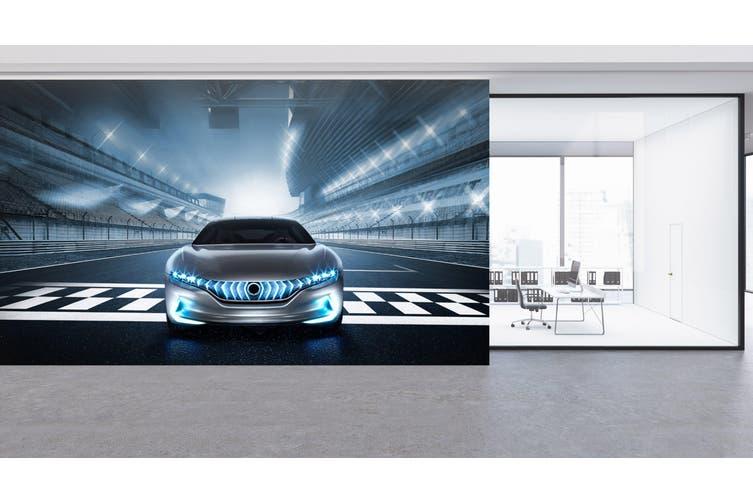 3D Stadium Sports Car 285 Vehicle Wall Murals Wallpaper Murals Woven paper (need glue), XXXL 416cm x 254cm (WxH)(164''x100'')