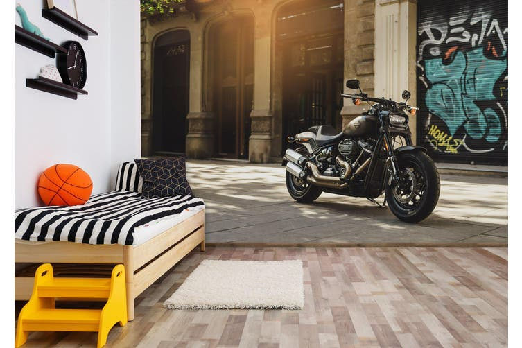 3D Sunshine Motorcycle 283 Vehicle Wall Murals Wallpaper Murals Self-adhesive Vinyl, XXXL 416cm x 254cm (WxH)(164''x100'')
