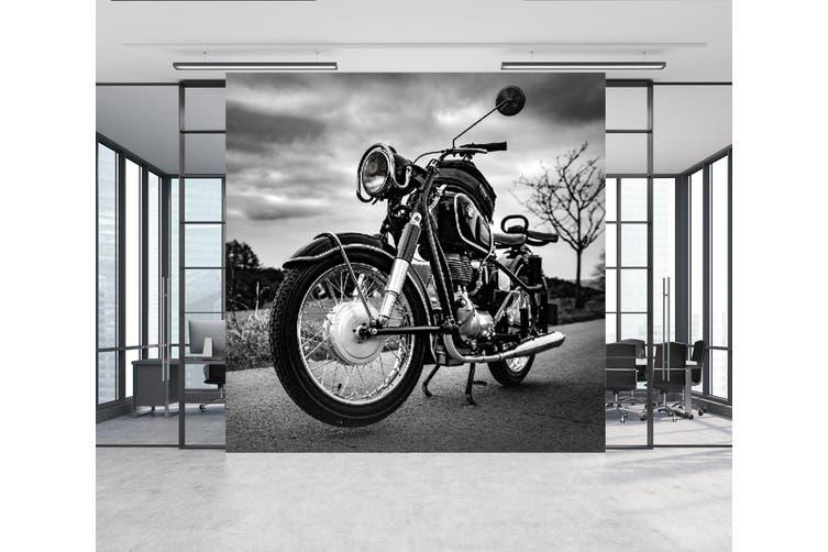 3D Black Motorcycle 275 Vehicle Wall Murals Wallpaper Murals Woven paper (need glue), XXXXL 520cm x 290cm (WxH)(205''x114'')
