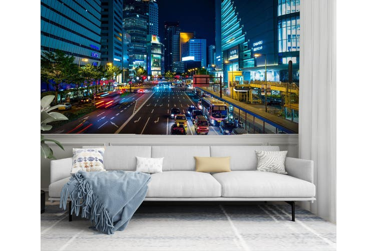 3D Street Mall Car 235 Vehicle Wall Murals Wallpaper Murals Self-adhesive Vinyl, XL 208cm x 146cm (WxH)(82''x58'')