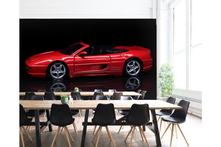 3D Red Convertible 230 Vehicle Wall Murals Wallpaper Murals Woven paper (need glue), XXXXL 520cm x 290cm (WxH)(205''x114'')