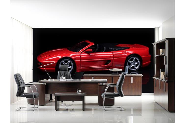 3D Red Convertible 230 Vehicle Wall Murals Wallpaper Murals Self-adhesive Vinyl, XL 208cm x 146cm (WxH)(82''x58'')