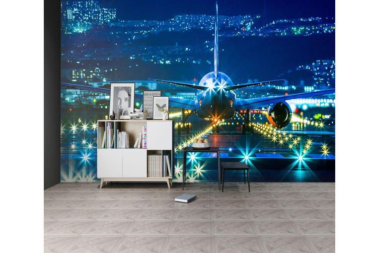 3D Lighting Airport 226 Vehicle Wall Murals Wallpaper Murals Woven paper (need glue), XXXXL 520cm x 290cm (WxH)(205''x114'')