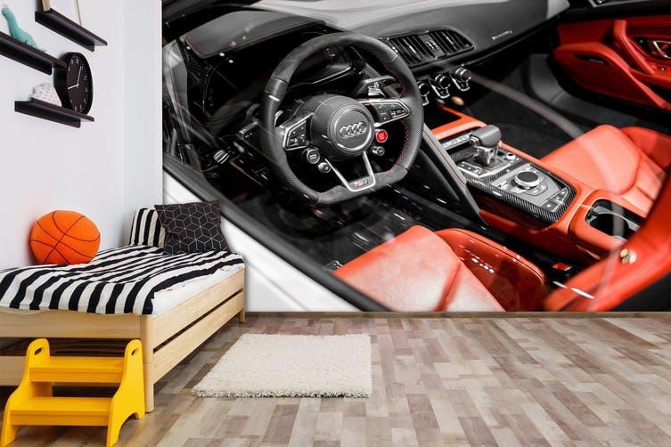 3D Audi Seating 219 Vehicle Wall Murals Wallpaper Murals Woven paper (need glue), XL 208cm x 146cm (WxH)(82''x58'')