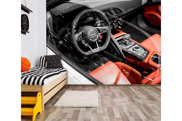 3D Audi Seating 219 Vehicle Wall Murals Wallpaper Murals Self-adhesive Vinyl, XXXXL 520cm x 290cm (WxH)(205''x114'')